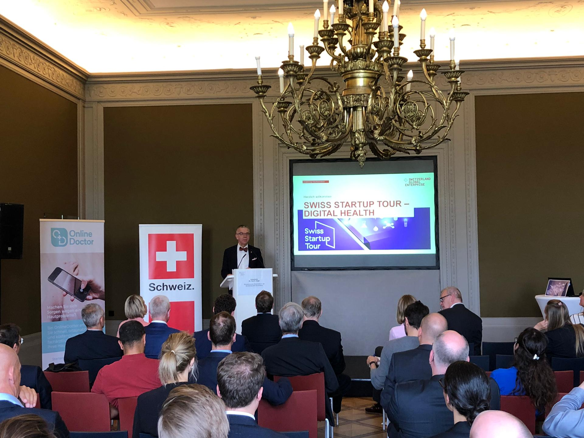 Swiss Health Startup Tour Schweizer Botschaft Berlin