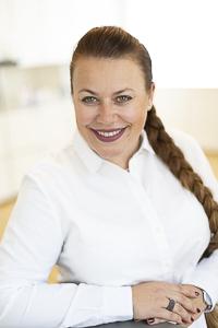 Porträt Andrea Hradiska